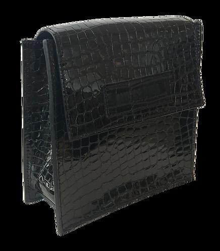 sac micro croco noir SQUARE