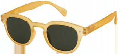 lunettes SUN C yellow honey