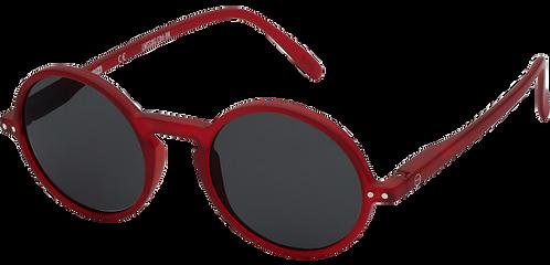lunettes SUN G rouge