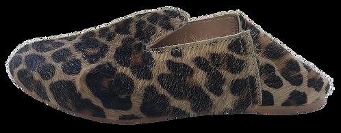 babouches léopard lamé