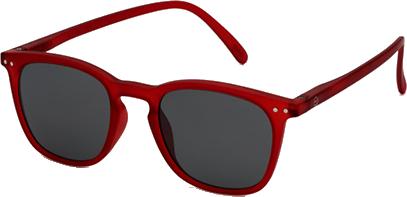 lunettes SUN E rouge