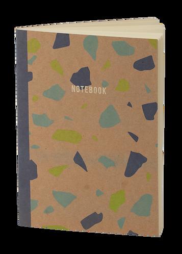 notebook terrazzo craft