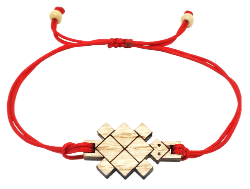 bracelet cordon tortue
