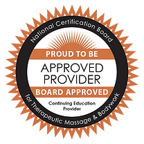 NCBTMB Approved Provider Seal