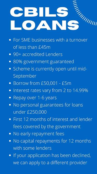 CBILS Loans for Businesses