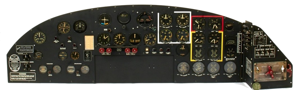 To The Fifty B-17 Dashboard