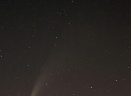 Photo de la comète Néowise prises à l'Observatoire