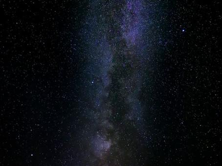 Voie Lactée à L'observatoire de SABARAT
