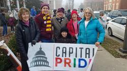 UUCF Capital Pride walk