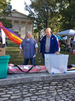 UUCF Pride '19 set-up