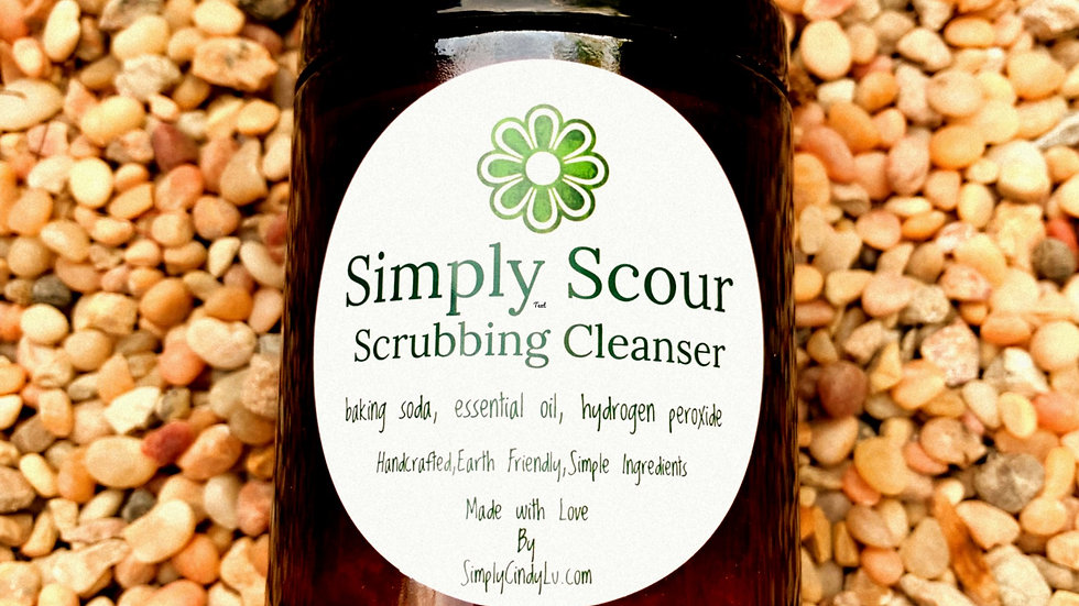 Simply Scour Scrubbing Cleanser Antibacterial