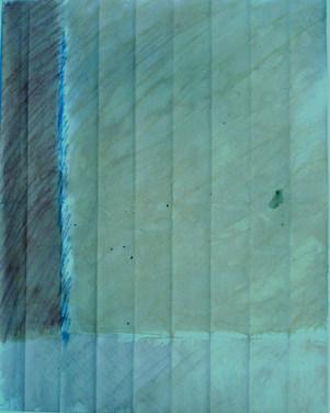 pastel sur papier