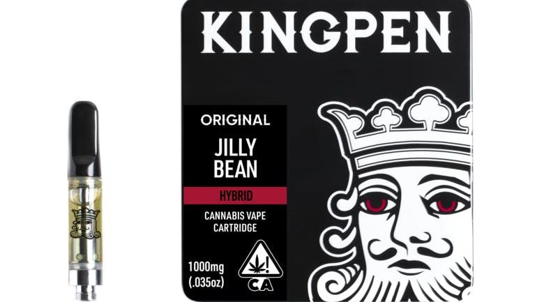 Kingpen Jillybean 1 Gram Vape Cartridge