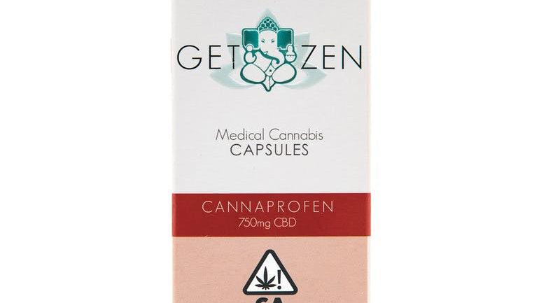Cannaprofen 25mg CBD Capsules - 30 pack
