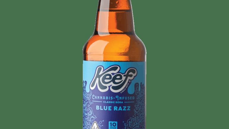 Keef Classic Blue Razz- REC