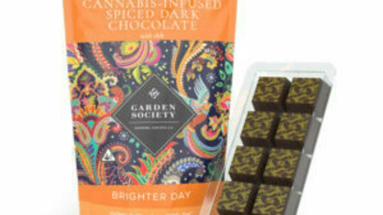 The Garden Society-Spiced Dark Chocolate