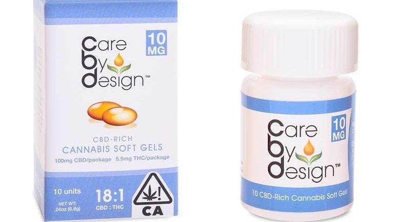 CBD Soft Gels 18:1 CBD/THC - 10 Soft Gels