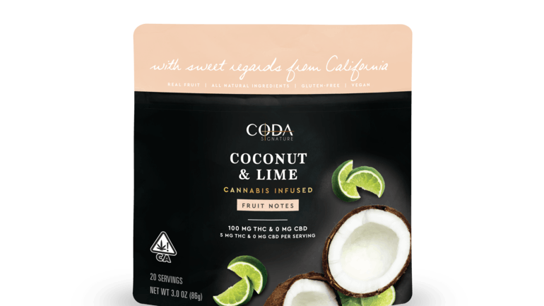 Coconut & Lime Fruit Notes - CA