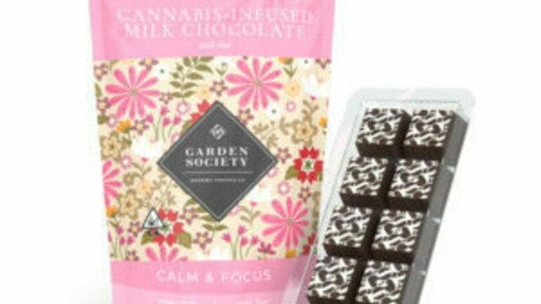 The Garden Society-Milk Chocolate With Chai