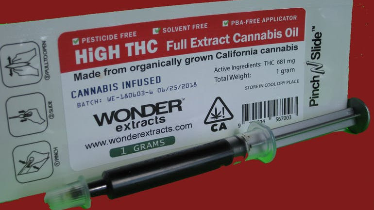 Wonder Extracts-THC RSO Oil