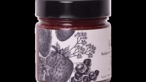 Bodzás eperlekvár - steviával 240 g