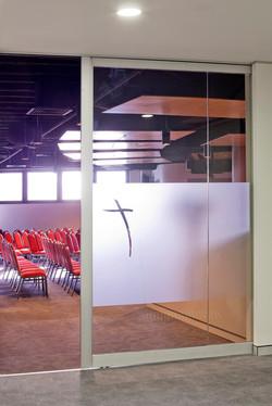 Worship Hall Entry