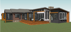 Rear Yard Concept Perspective