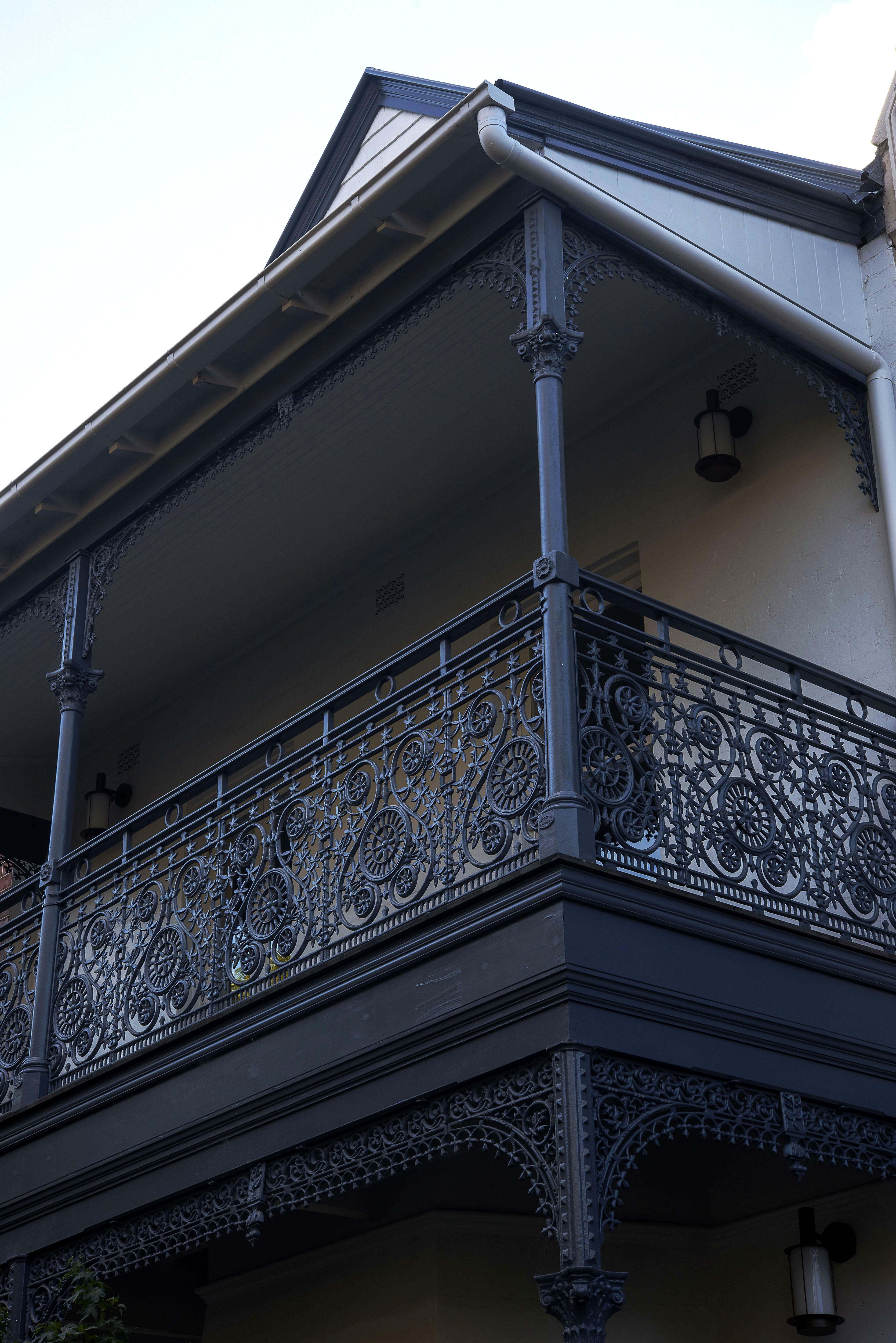 Heritage balustrade upgrade