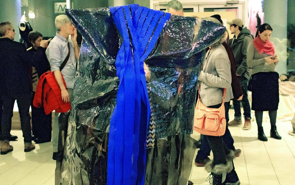 Performance at gallery Espacio Mexico