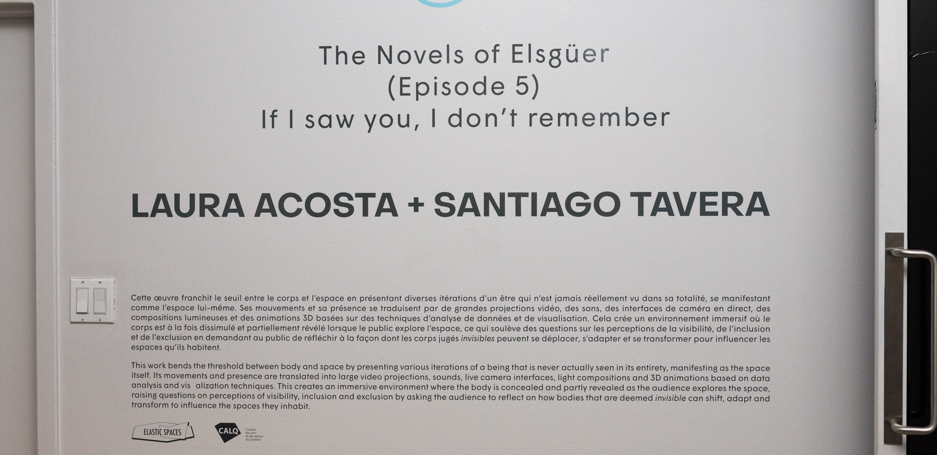 The Novels of Elsewhere (Ep 5) If I Saw You, I Don't Remember