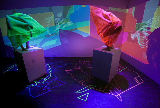 Ep 3. Live performance and projection installation