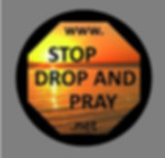 Stop Drop & Pray Decals magnet_resize 50