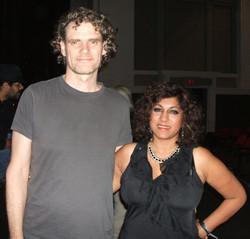 Jesse cook and Zahra