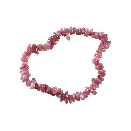 Bracelet Baroque Tourmaline rose