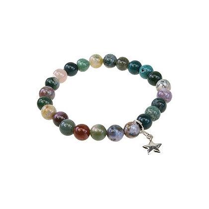 Bracelet Art de la chance - Agate Multi