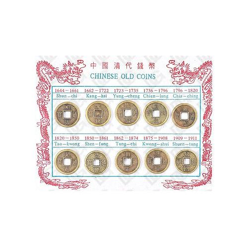 Lot de 10 pièces chinoises
