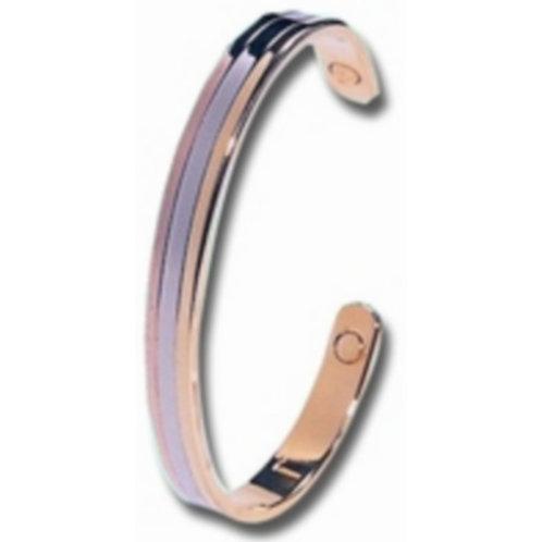Bracelet 3 métaux avec aimant - Copperson