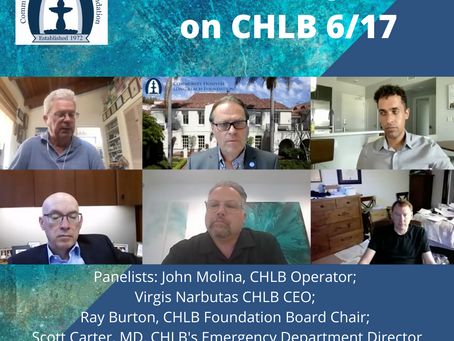 A Virtual Update on CHLB 6/17/2021