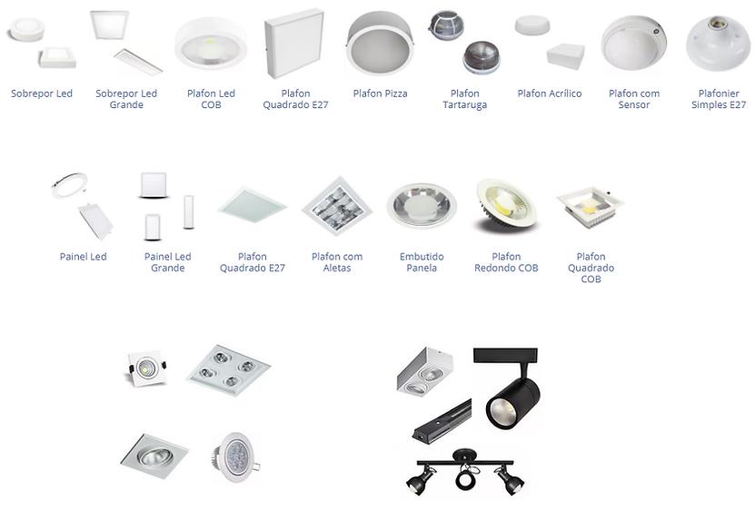 Fabricante e Distribuidor de LumináriaInterna