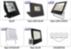 Projetor e Refletor Led para Fachada - Imagem 2