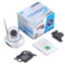 Câmera IP Wireless 360° HD 1080x720 - Foto 3 - Ames Iluminação