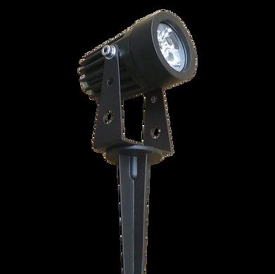 Luminária espeto LED alumínio