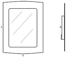 balizador de embutir, caixa 4x2, balizador para caixa 4x2, balizador led, led 3w, balizador, led, balizador plástico, policarbonato, embutir na parede, embutir na caixa, led samsung, 3w, BQ, espelho balizador, balizador de tomada