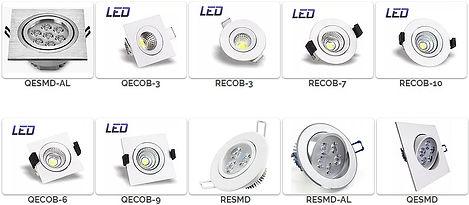 Luminária Led para Sanca e Forro de Gesso - Modelos de Luminárias