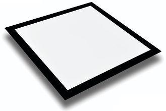 Plafon Led Preto Quadrado Embutir 12w, 18w, 24w e 32w