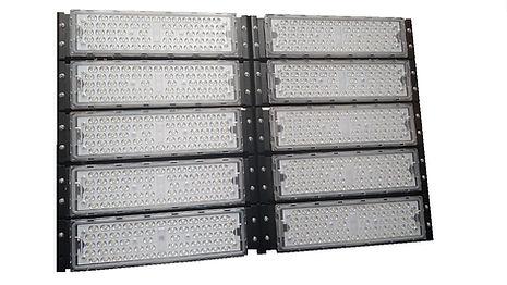 Refletor Modular Led 500w 51.000 Lúmens Industrial