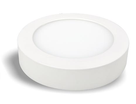 Plafon led sobprepor, fabricado em alumínio com super led de alta iluminância. Luminária led sobrepor.