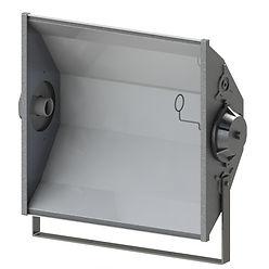 Iluminação para Estacionamento - Refletor simples