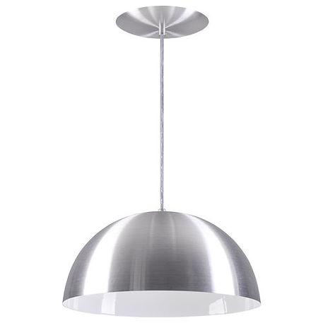 Pendente Meia Esfera em Alumínio