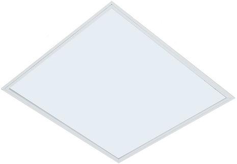 LumináriaQuadrada para 4 Lâmpadas com Poliestireno Translúcido